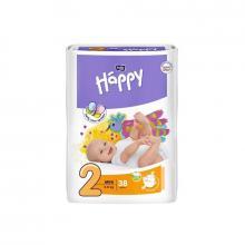 Bella Happy Mini (3-6 kg) 38 ks - jednorázové pleny