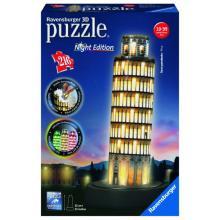 Ravensburger puzzle Pisa 3D - noční edice 216 dílků