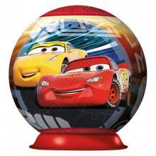 Ravensburger puzzleball Disney Auta 3, 3D 72 dílků