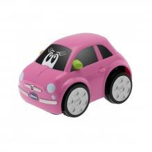 Chicco Autíčko Turbo Touch - Fiat 500 růžové
