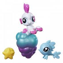 Hasbro My Little Pony Mini pony s přísavkou a doplňky