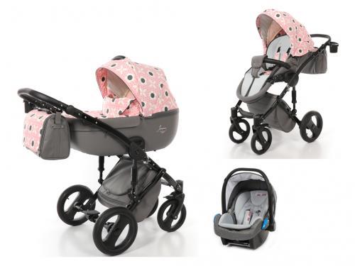 Kočárek Junama Cosatto Limited Edition s autosedačkou BabySchild Yannie