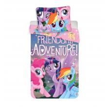 Jerry Fabrics Bavlněné povlečení My Little Pony Friendship adventure 140x200 cm