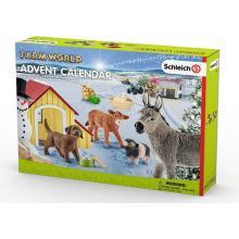 Adventní kalendář Schleich - Domácí zvířata