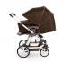 V ceně kočárku je podvozek, sportovní nástavba, hluboká korba 3 v 1, madlo před dítě, nákupní košík + SET Hazel (autosedačka + adaptéry pro připevnění ke konstrukci kočárku). TURBO 4 - Flexibilita na čtyřech snadno ovladatelných kolech.