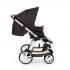 V ceně kočárku je podvozek, sportovní nástavba, hluboká korba 3 v 1, madlo před dítě, nákupní košík. TURBO 6 - Flexibilita na šesti snadno ovladatelných kolech.
