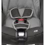 Autosedačka pro děti od 0 do 13 kg. Jednoduchá instalace do auta v poloze proti směru jízdy. Autosedačka má 3-bodové polstrované pásy s centrálním nastavováním délky. Autosedačka má snímatelný prací potah, snadnou regulaci výšky pásů a nadprůměrný vnitřní prostor.