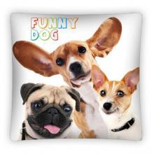 Faro povlak na polštářek Funny Dog micro 40x40 cm