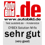 Autosedačka Solution M-fix, skupina II/III, s isofixem, 15 - 36 kg, od cca 3 až do 12 let.
