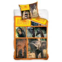Carbotex Bavlněné povlečení Animal Planet Safari 140x200 cm