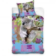Carbotex Bavlněné povlečení Animal Planet Koala 140x200 cm