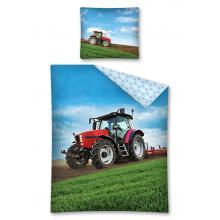 Detexpol Bavlněné povlečení Traktor 140x200 cm