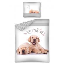 Detexpol Bavlněné povlečení Sweet Animals My Dog 140x200 cm