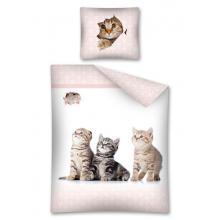 Detexpol Bavlněné povlečení Sweet Animals My Cat 140x200 cm