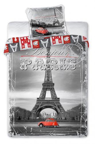 Faro Bavlněné povlečení Paříž Eiffelova věž 140x200 cm