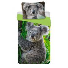 Jerry Fabrics Bavlněné povlečení Koala 140x200 cm