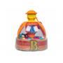 Barevný popcorn Poppitoppy od B.Toys. Zmáčkněte hlavičku hračky a sledujte, jak uvnitř létají kuličky stejně jako popcorn.