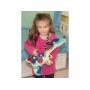 Elektronická kytara nabízí mnoho variant hraní a nastavení. Osm tlačítek skrývá osm hudebních akordů, Brnkáním na struny zahrajete jednu z 20 známých melodií.