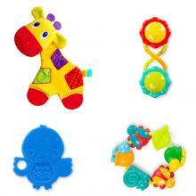 Bright Starts Sada hraček Teething Fun, 0m+