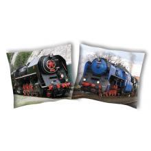 SDS povlak na polštářek Parní lokomotiva 2, 40x40 cm