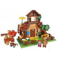 Big PlayBIG BLOXX Máša a medvěd Míšův dům