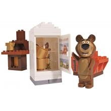 Big PlayBIG BLOXX Máša a medvěd Míšův pokojíček