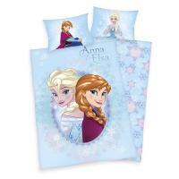 Herding povlečení do postýlky Ledové království Anna a Elsa 135x100 cm