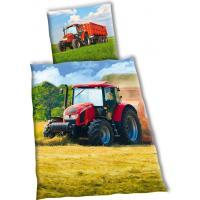 SDS Bavlněné povlečení Traktor Zetor 2 sklizeň 140x200