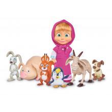 Simba Máša a medvěd Panenka Máša a její zvířecí kamarádi