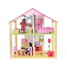 Simba Dřevěný domeček pro panenky s příslušenstvím