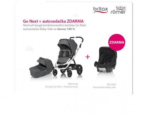 Kočárek Britax Go Next s autosedačkou Römer Baby-Safe