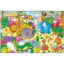 ADC Blackfire Velké podlahové puzzle – zvířátka v džungli