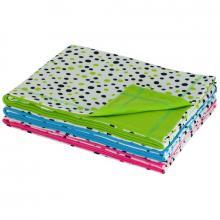 Esito Letní dětská deka dvojitá bavlna puntík