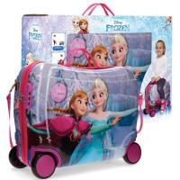 Joummabags Dětský kufřík na kolečkách Frozen Ledové Království Magic MAXI 50 cm