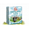 DOLLANO Baby premium S (3-8 kg) 80 ks - jednorázové plenky