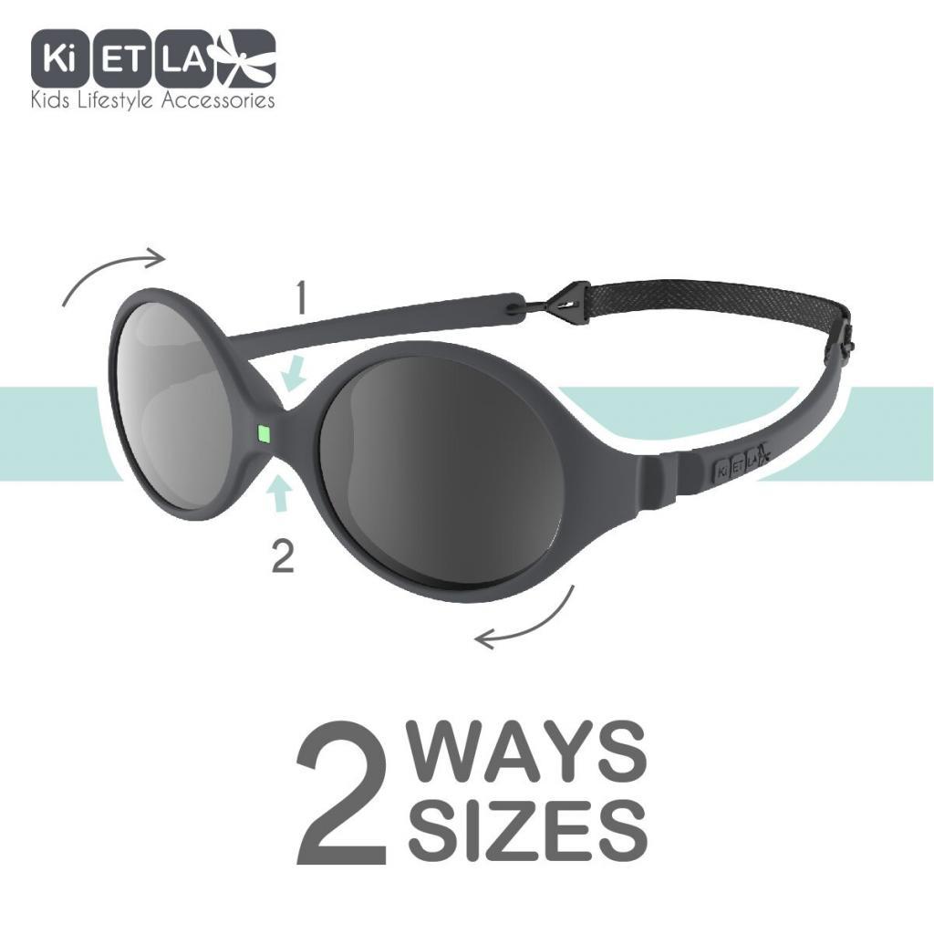 1ba4c13f74f Sluneční brýle Diabola 0-18 měsiců značky KiETLA ochrání zrak Vašeho  miminka před ostrým sluníčkem