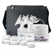 Avent odsávačka mateřského mléka Natural DUO elektronická new + GARANCE 100 DNÍ