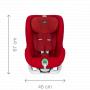 Autosedačka kategorie 9-18 kg (od 9 měsíců do 4 let). KING II ATS - Sedačka, která nikdy nespí. Tato skvělá sedačka nabízí skutečně inovativní nový bezpečnostní prvek: Active Tensioning System automaticky kontroluje, monitoruje a upravuje napnutí pásu během cesty.