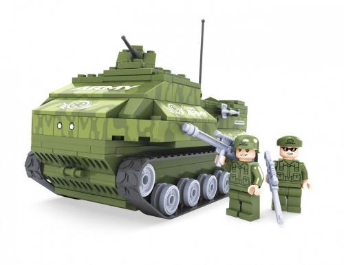 Rappa Stavebnice AUSINI armádní tank 199 dílů