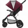 Kočárek Britax B-Motion 4 zajišťuje všestrannost, pohodlí a plynulou jízdu pro Vaše dítě. Lehký kočárek s jednoduchým skládacím mechanismem jednou rukou a výškově nastavitelnou rukojetí – to vše pro Váš snazší život.