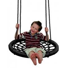 Woody Houpací kruh (průměr 85 cm) - černý