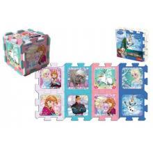 Trefl Pěnové puzzle Ledové království/Frozen 32x32x1cm 8ks v sáčku