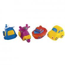 Canpol babies hračka do vody dopravní prostředky 4 ks