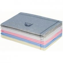 Esito Letní dětská deka dvojitá bavlna jednobarevná 75x100 cm