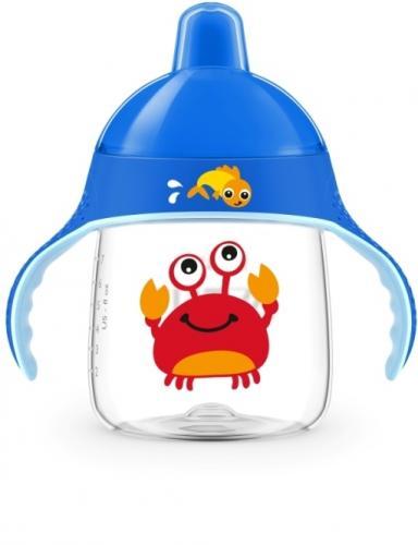 Avent hrneček pro první doušky Premium 260 ml 12m+ krab