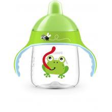 Avent hrneček pro první doušky Premium 260 ml 12m+ žába