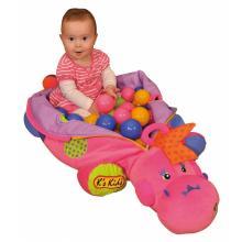 K´s Kids Růžová dinosauřice se 60 míčky