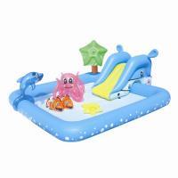 Bestway Nafukovací bazének se skluzavkou a mnoha doplňky 239x206x86 cm