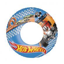 Bestway Nafukovací kruh Hot Wheels, 56 cm