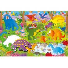 ADC Blackfire Velké podlahové puzzle – dinosauři